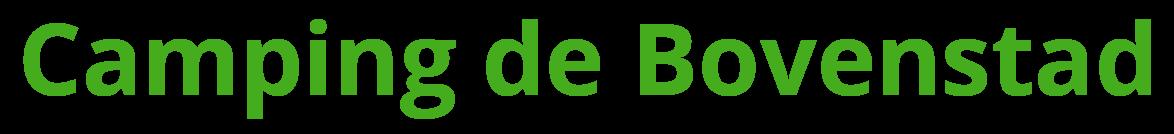 Camping de Bovenstad logo